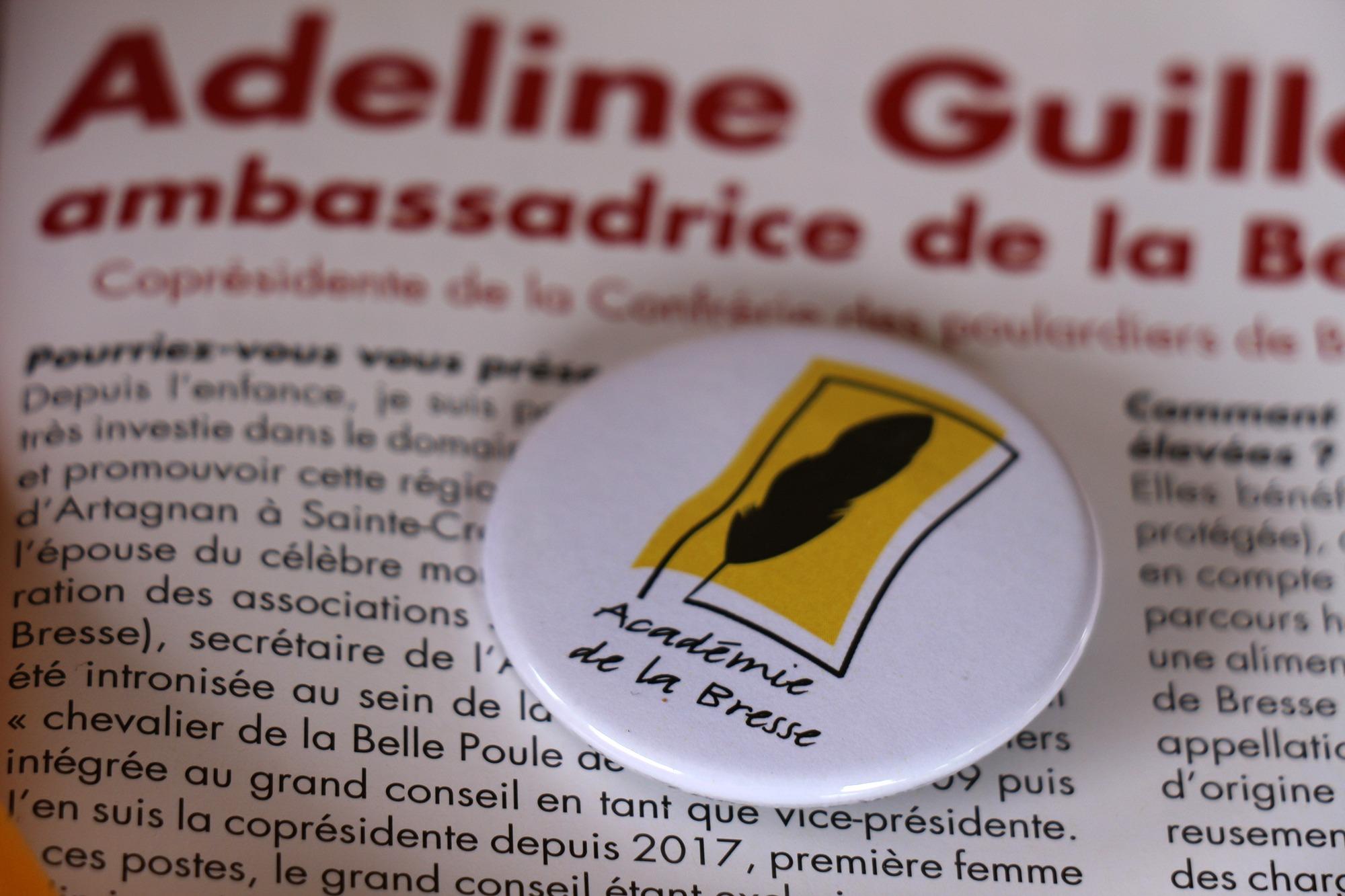 Adeline Guillemaut, ambassadrice de la Bresse